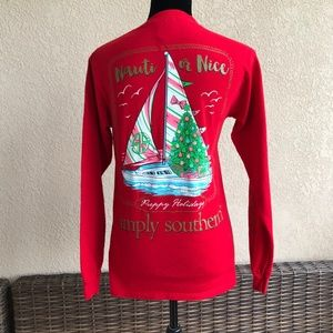 Simply Southern Red Nauti or Nice Preppy Holidays